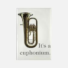 It's a Euphonium Rectangle Magnet