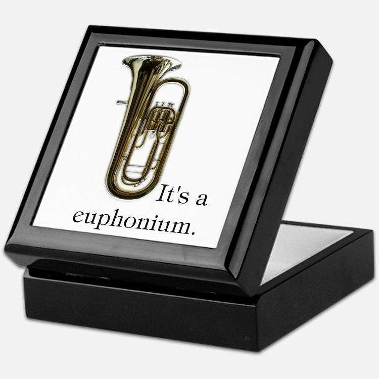 It's a Euphonium Keepsake Box