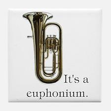 It's a Euphonium Art Tile