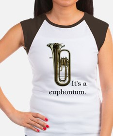 It's a Euphonium Women's Cap Sleeve T-Shirt