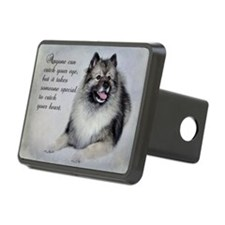 Keeshond Hitch Cover