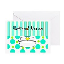 Retired nurse official blanket 2 Greeting Card