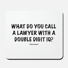"""Lawyer """"IQ"""" Mousepad"""
