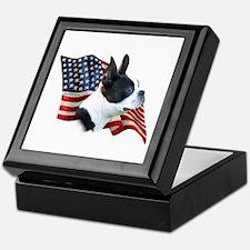 Boston Flag Keepsake Box