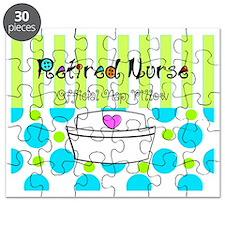 Retired Nurse Offician Nap pillow 1 Puzzle