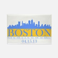 Boston - God Be WIth Us Rectangle Magnet