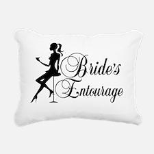 Brides Entourage Ladies  Rectangular Canvas Pillow