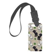 Lovable Lambs Luggage Tag