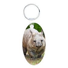 Common wombat - vombatus ur Keychains