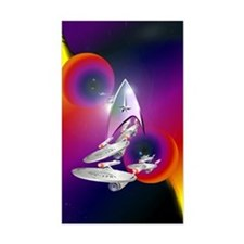 Star Trek Poster Infared Decal