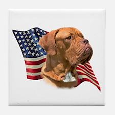 Dogue Flag Tile Coaster