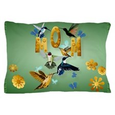Mom-For the birds Pillow Case