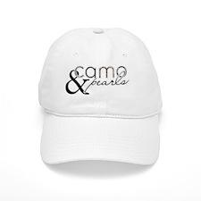 Camo  Pearls Baseball Cap