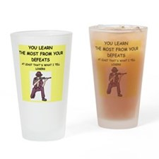 trap shooting Drinking Glass