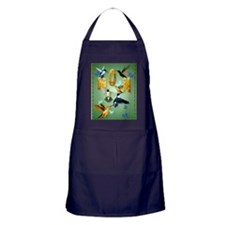 MOM-For to the birds Apron (dark)