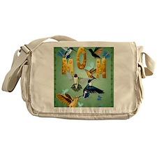 MOM-For to the birds Messenger Bag
