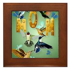 MOM-For to the birds Framed Tile