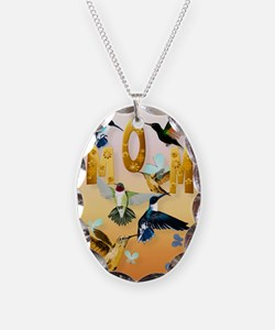 MOM-For to the birds on yellow Necklace