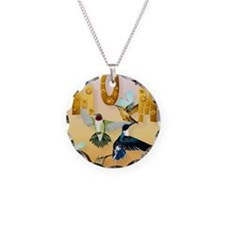 MOM-For to the birds on yell Necklace