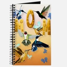 MOM-For to the birds on yellow Journal