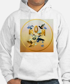 MOM-For to the birds on yellow Hoodie