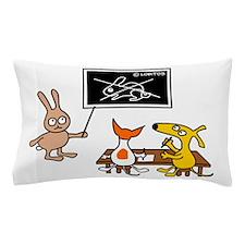 Dog schoool Pillow Case