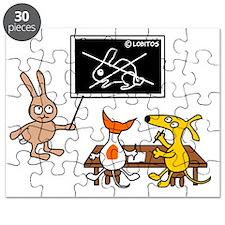 Dog schoool Puzzle