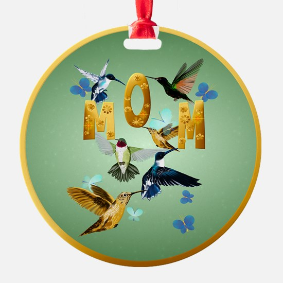 Circle MOM-For to the birds Ornament