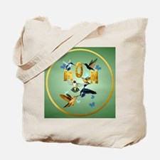 Circle MOM-For to the birds Tote Bag