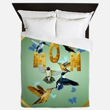 Circle MOM-For to the birds Queen Duvet