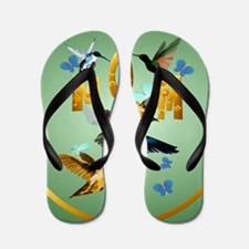Circle MOM-For to the birds Flip Flops
