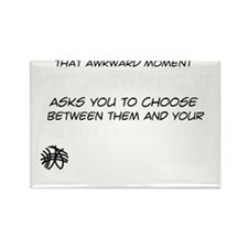 Funny gifts for the Chantilly Tif Rectangle Magnet