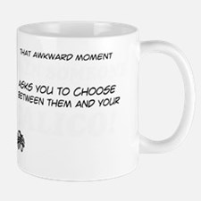 Funny gifts for the Calico Cat lover Mug