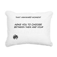 Funny gifts for the Bali Rectangular Canvas Pillow