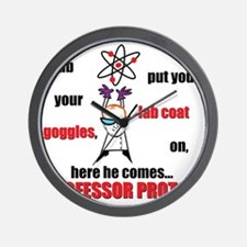 Professor Proton Wall Clock