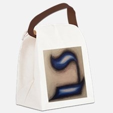 Letter Bet Canvas Lunch Bag