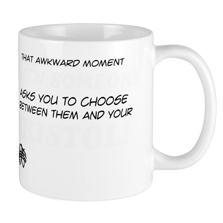 Funny gifts for the Bristol Cat lover Mug