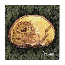 Bandit... Tile Coaster