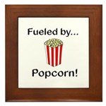 Fueled by Popcorn Framed Tile