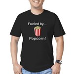 Fueled by Popcorn Men's Fitted T-Shirt (dark)