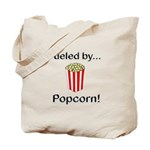 Fueled by Popcorn Tote Bag