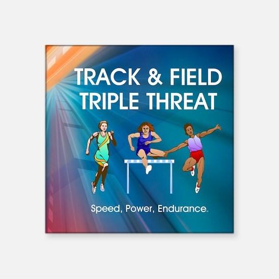 "trackspef1a Square Sticker 3"" x 3"""