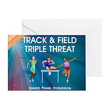 trackspef1a Greeting Card