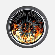 Demon hunter protection Symbal Ring Pat Wall Clock