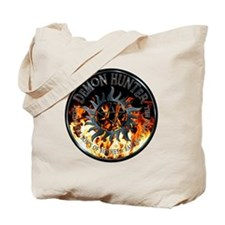 Demon hunter protection Symbal Ring Patch Tote Bag
