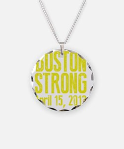 Boston Strong - Yellow Necklace