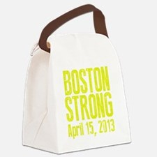Boston Strong - Yellow Canvas Lunch Bag