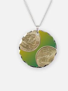 Huguenot-Walloon Half Dollar Necklace