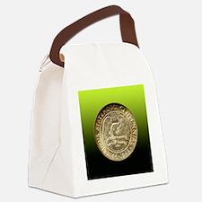 Iowa Centennial Half Dollar Coin  Canvas Lunch Bag