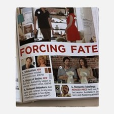 Forcing Fate Poster Throw Blanket